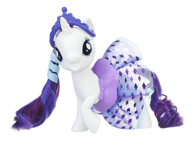 Afbeelding van My Little Pony figuur The Movie Sparkling and spinning skirt Rarity from ColliShop