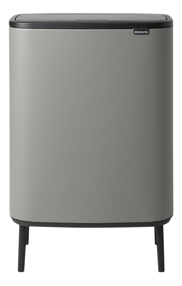 Image pour Brabantia Poubelle Touch Bin Bo Hi mineral concrete grey 60 l à partir de ColliShop