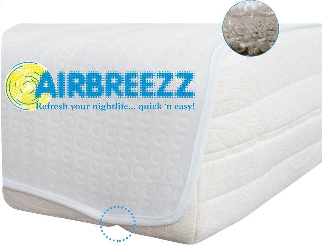 Afbeelding van Airbreezz matrasbeschermer (plateau) polyethersulfon (PES) 180 x 200 cm from ColliShop