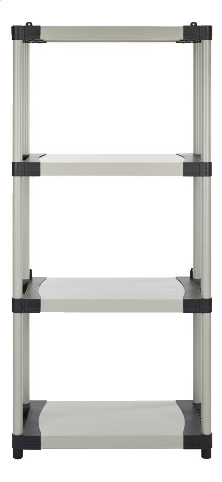Image pour Practo Home Étagère de rangement Plasti Rack 084 gris à partir de ColliShop