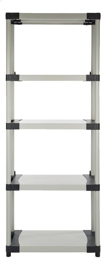 Image pour Practo Home Étagère de rangement Plasti Rack 085 gris à partir de ColliShop