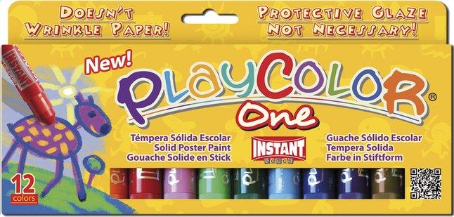 Afbeelding van 12 verfstiften PlayColor One 10 g from ColliShop