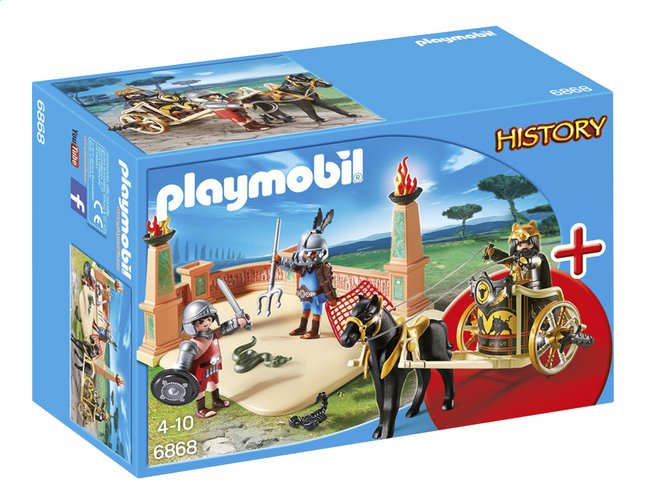 Afbeelding van Playmobil History 6868 Starter Set Arena met gladiatoren from ColliShop