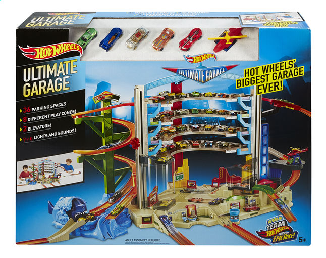 Image pour Hot Wheels Ultimate Garage à partir de ColliShop