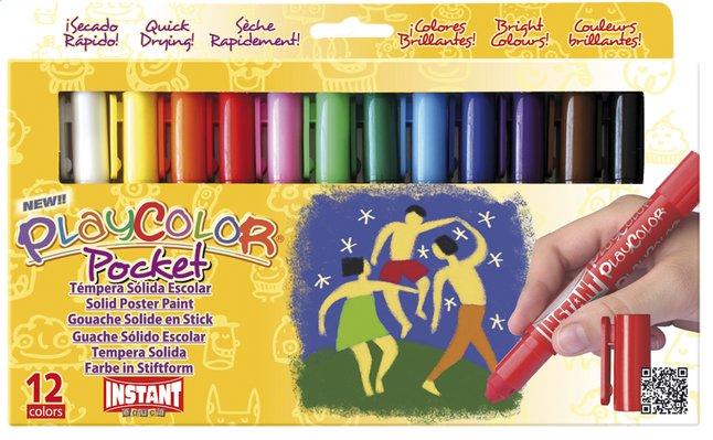 Afbeelding van 12 verfstiften PlayColor One 5 g from ColliShop