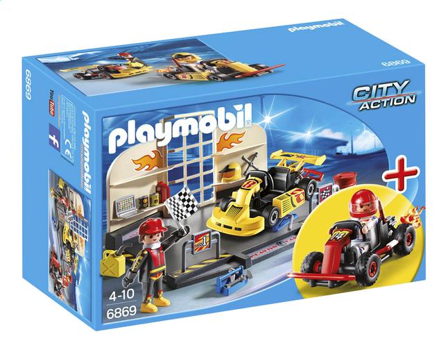 Afbeelding van Playmobil City Action 6869 Starter Set Karting garage from ColliShop