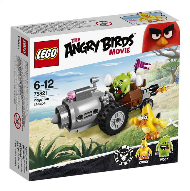 Afbeelding van LEGO Angry Birds 75821 Piggy Car Escape from ColliShop