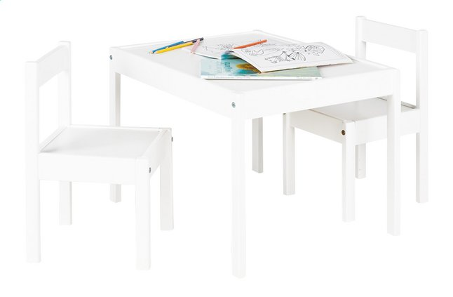 Afbeelding van Tafel met 2 stoelen voor kinderen Sina from ColliShop