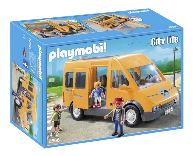 Afbeelding van Playmobil City Life 6866 Schoolbusje from ColliShop