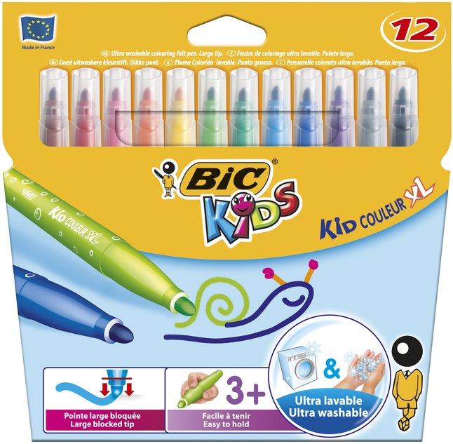 Bic Kids feutre de couleur Kid Couleur XL - 12 pièces