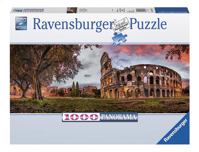 Image pour Ravensburger puzzle panorama Colisée au crépuscule à partir de ColliShop