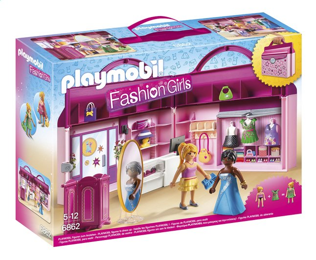 Afbeelding van Playmobil City Life 6862 Meeneem fashionshop from ColliShop