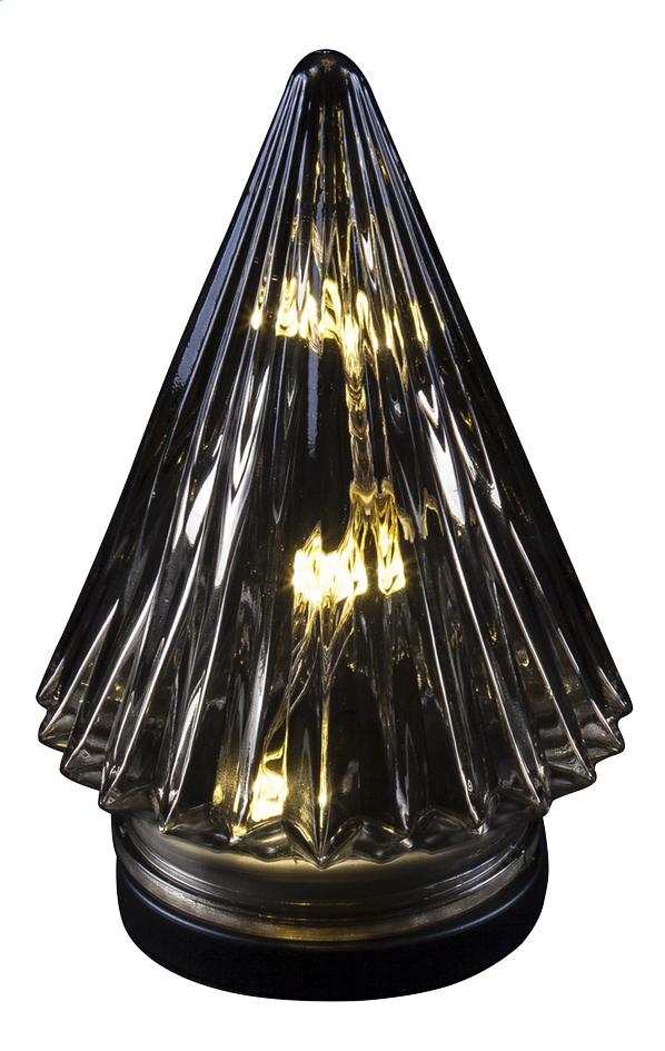 Image pour Sapin de Noël conique en verre H 18 cm à partir de ColliShop