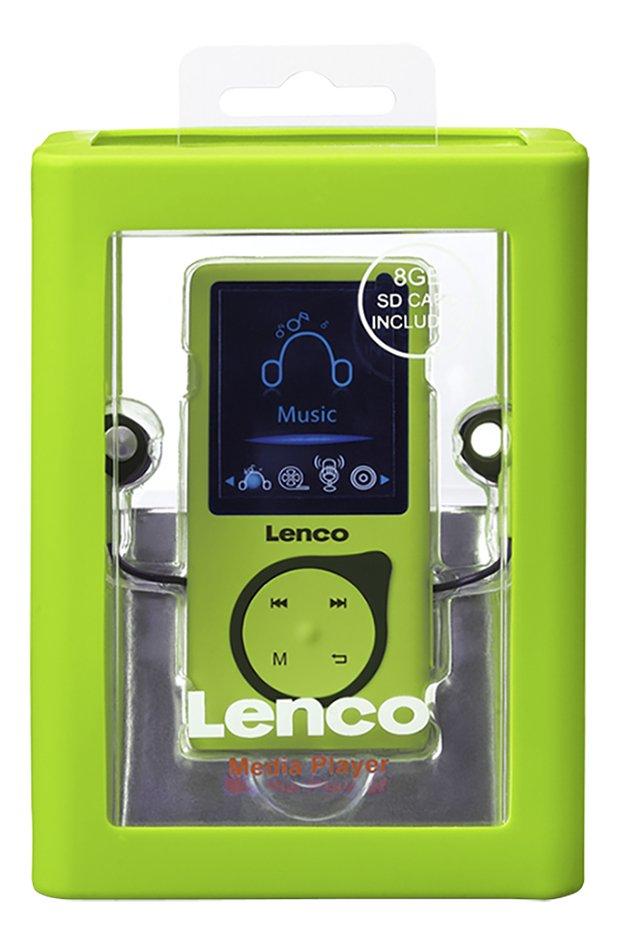 Lenco lecteur MP4 MP-108 8 Go Lime
