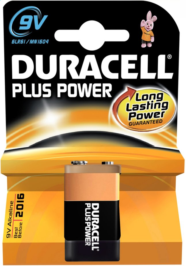 Image pour Duracell pile 9V Plus Power à partir de ColliShop