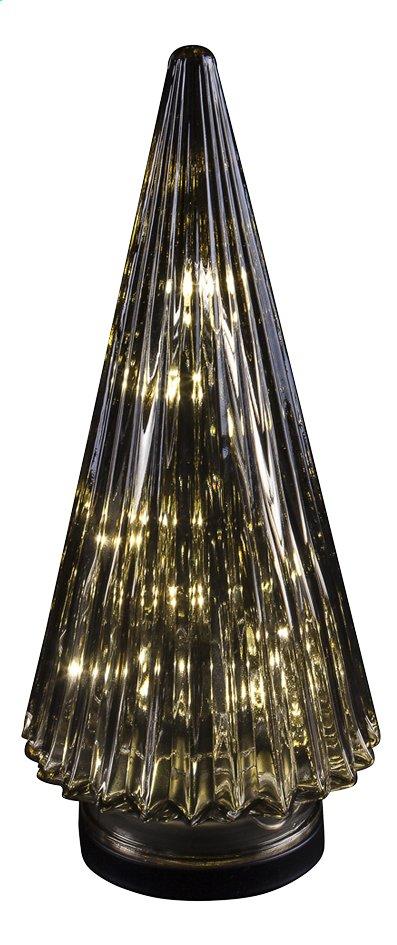 Image pour Sapin de Noël conique en verre H 28 cm à partir de ColliShop