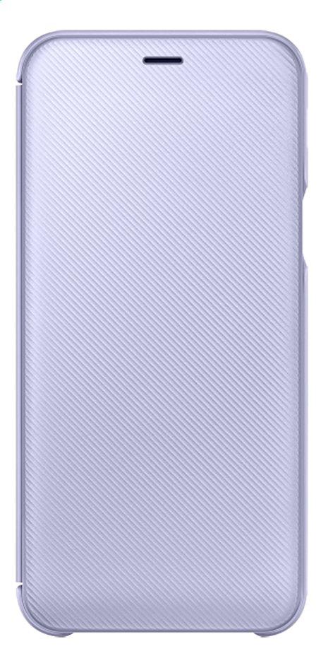 Afbeelding van Samsung Wallet Cover voor Galaxy A6 paars from ColliShop