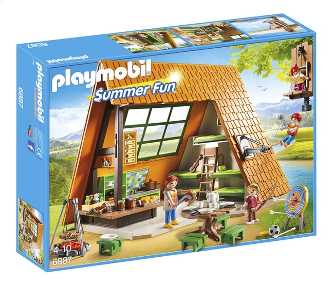 Image pour Playmobil Summer Fun 6887 Gîte de vacances à partir de ColliShop
