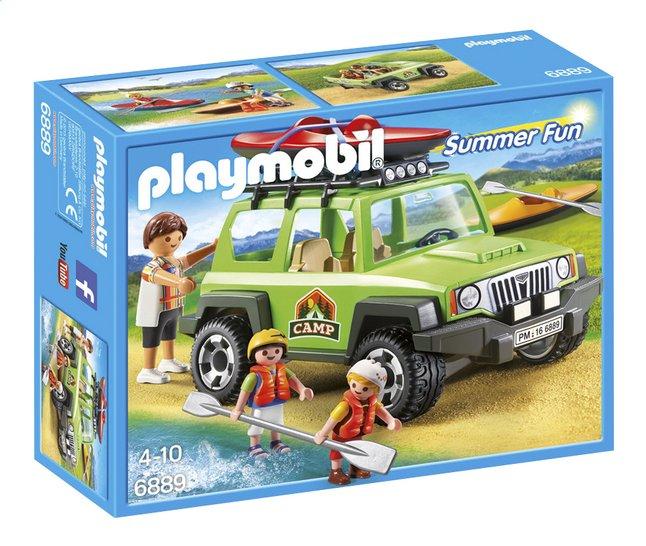 Afbeelding van Playmobil Summer Fun 6889 Familieterreinwagen met kajaks from ColliShop