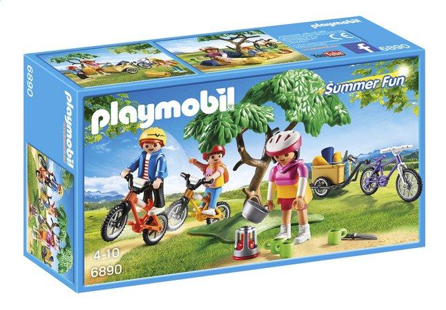 Image pour PLAYMOBIL Summer Fun 6890 Cyclistes avec vélos et remorque à partir de ColliShop