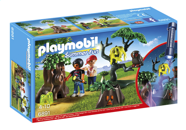 Afbeelding van Playmobil Summer Fun 6891 Nachtdropping met UV-lamp from ColliShop