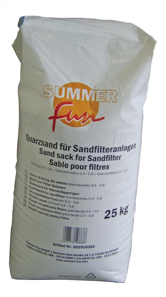 Image pour Sable pour filtre pour filtre à sable 25 kg à partir de ColliShop