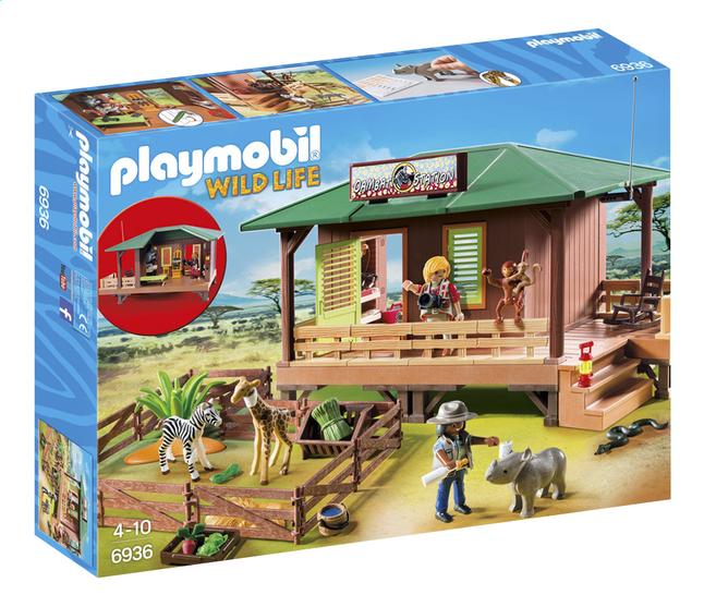 Image pour PLAYMOBIL Wild Life 6936 Centre de soins pour animaux de la savane à partir de ColliShop