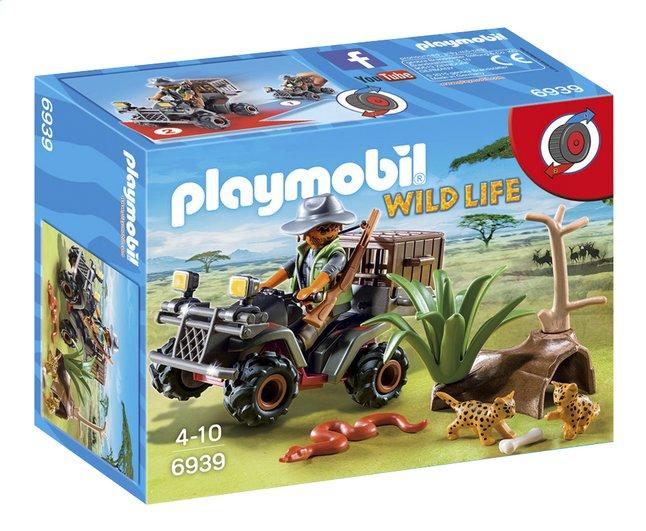 Image pour Playmobil Wild Life 6939 Braconnier avec quad à partir de ColliShop