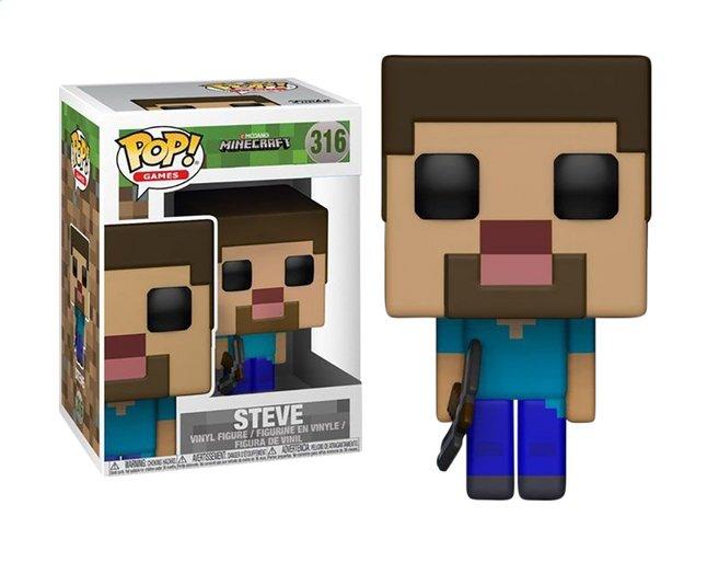 Image pour Funko Pop! figurine Minecraft - Steve à partir de ColliShop