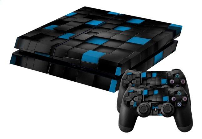 Image pour PS4 skins 3D Cubes pour console + 2 skins pour manettes à partir de ColliShop