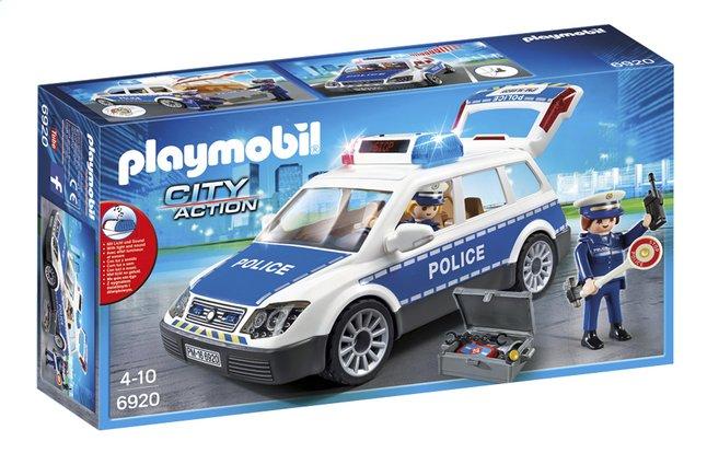 Afbeelding van PLAYMOBIL City Action 6920 Politiepatrouille met licht en geluid from ColliShop