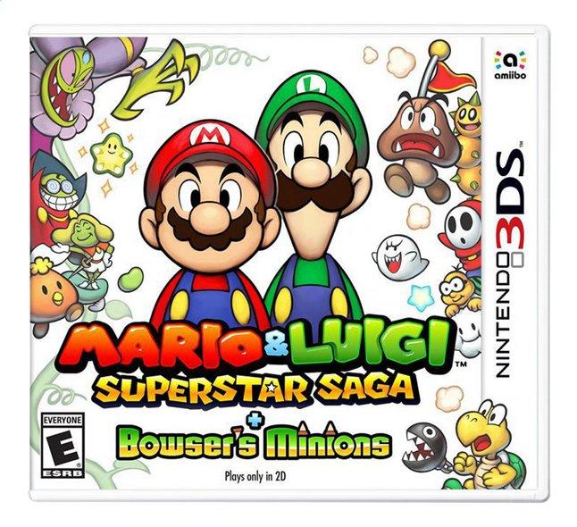 Image pour 3DS Mario & Luigi: Superstar Saga + Bowser's Minions FR à partir de ColliShop