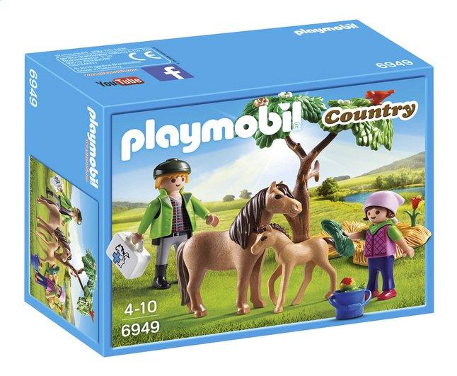 Afbeelding van Playmobil Country 6949 Dierenarts met pony's from ColliShop