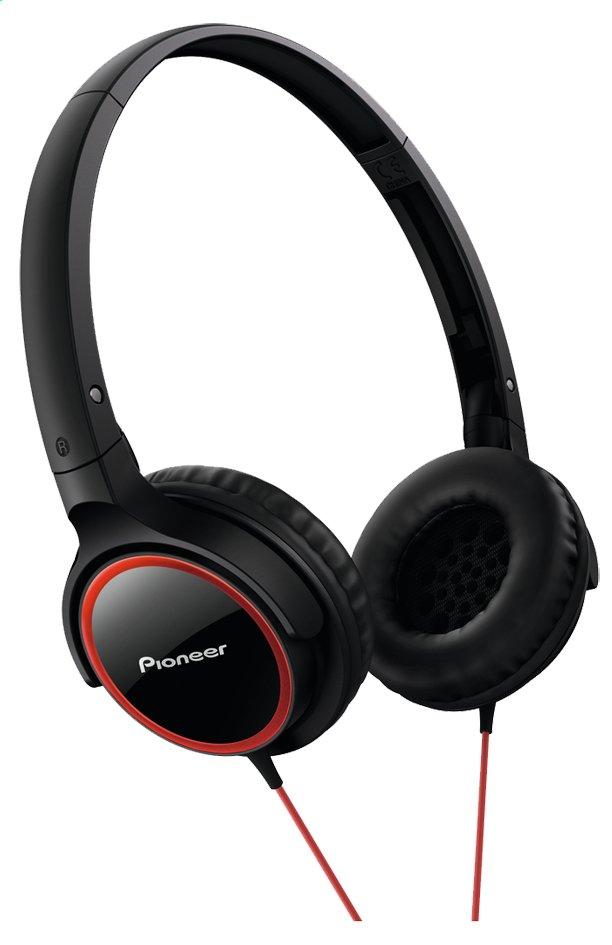 Afbeelding van Pioneer hoofdtelefoon SE-MJ512 zwart/rood from ColliShop