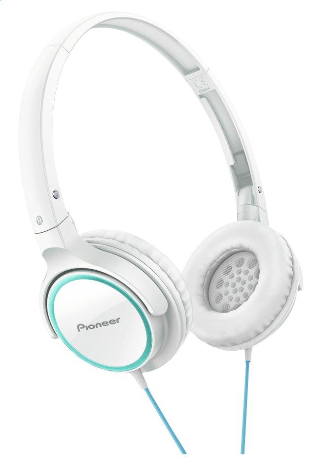 Afbeelding van Pioneer hoofdtelefoon SE-MJ512 wit/turquoise from ColliShop