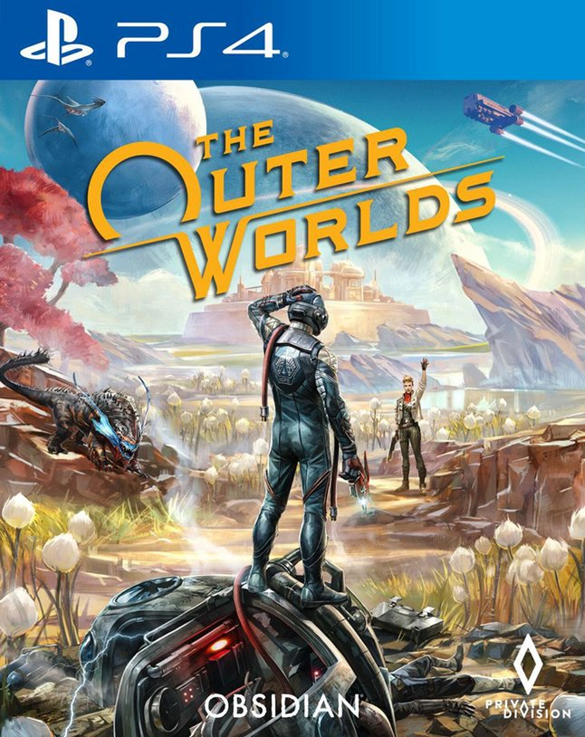 PS4 The Outer Worlds FR/NL