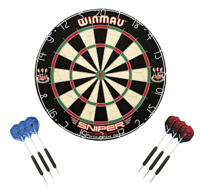 Afbeelding van Dartbord Winmau Sniper from ColliShop