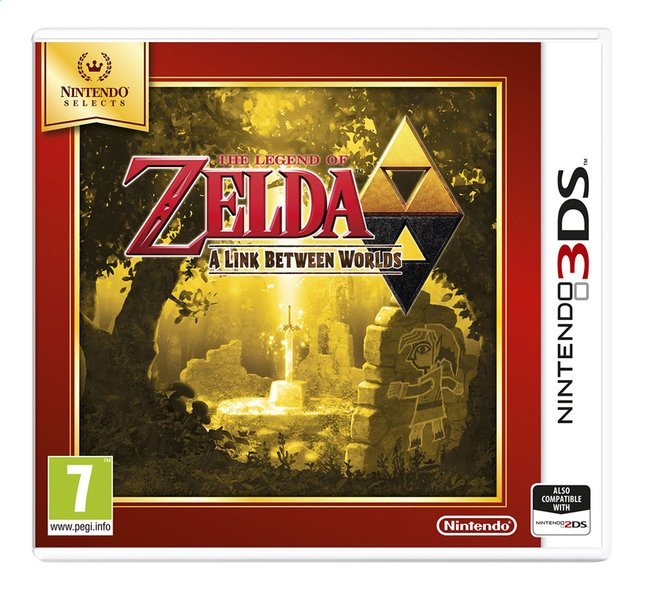 Afbeelding van Nintendo 3DS The Legend of Zelda: A Link Between Worlds Select FR from ColliShop