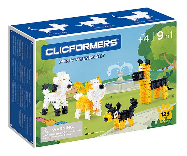 Clicformers Puppy Friends Set 9-in-1