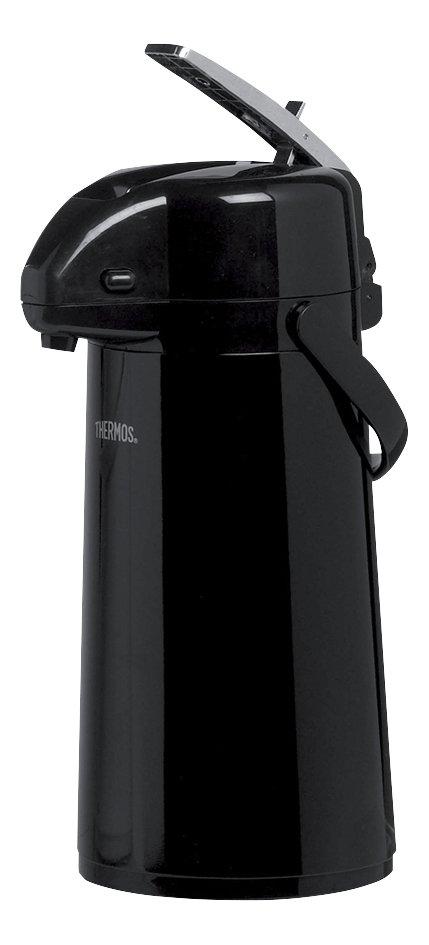 Image pour Thermos bouteille thermos avec système de pompe 1,3 l noir à partir de ColliShop