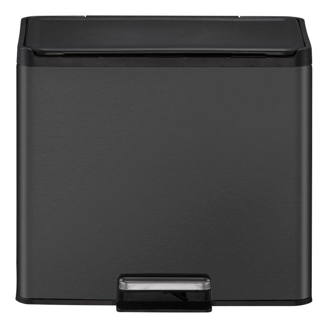 Eko Pedaalemmer Essential Recycler zwart 9 l + 20 l