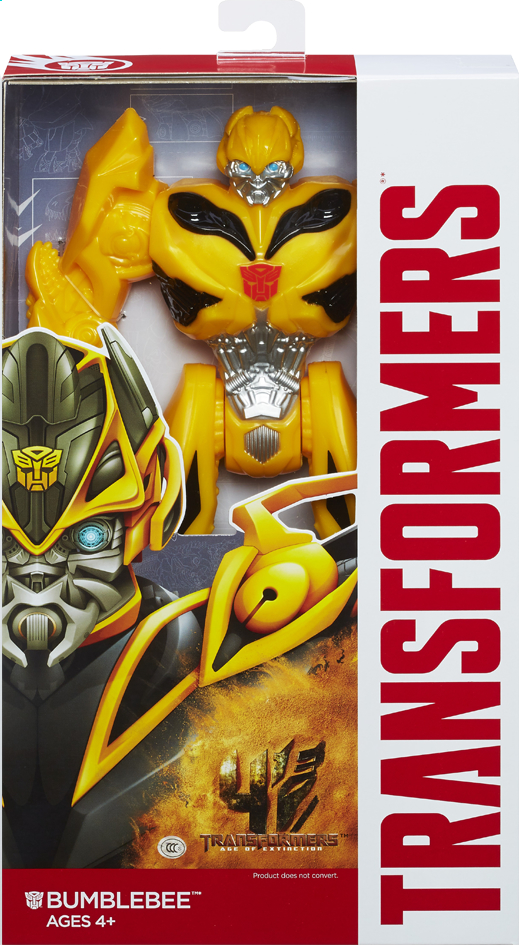 Afbeelding van Figuur Transformers 4 Titan Heroes Bumblebee from ColliShop