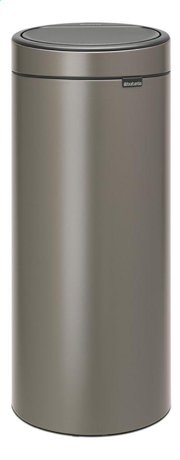 Brabantia Poubelle Touch Bin New platinum 30 l