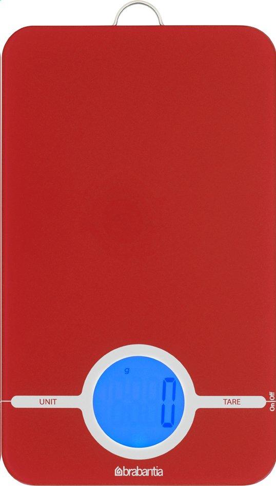 Image pour Brabantia balance de cuisine numérique Essential rouge à partir de ColliShop