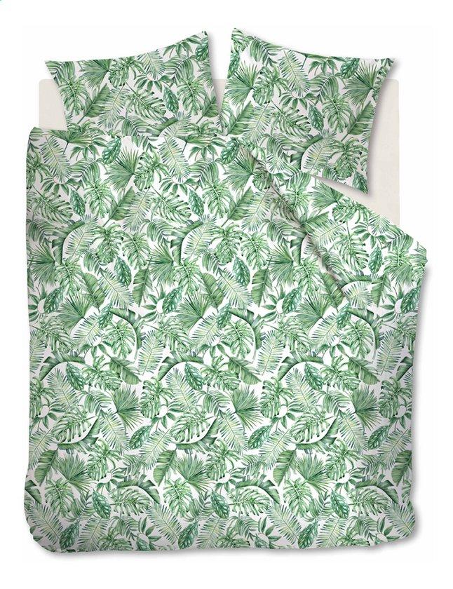 Ambiante Dekbedovertrek Monstera green katoen 260 x 220 cm