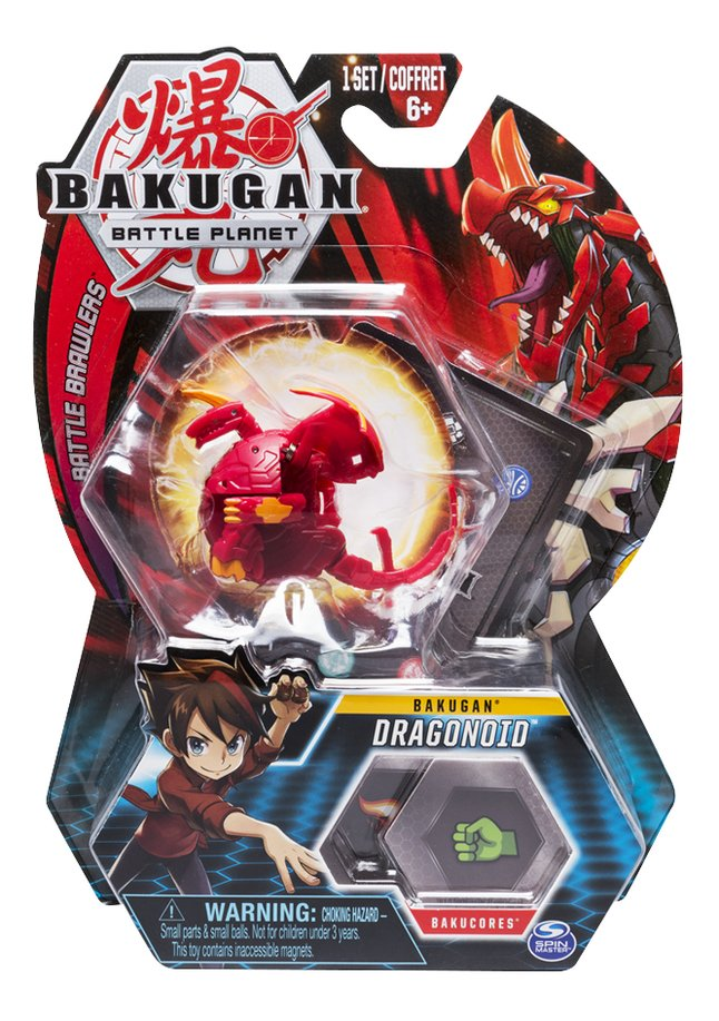 Image pour Bakugan Core Ball Pack - Dragonoid à partir de ColliShop