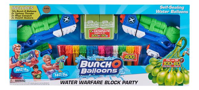 Afbeelding van Zuru Bunch O Balloons - Water Warfare Block Party from ColliShop