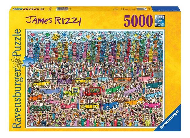 Image pour Ravensburger puzzle James Rizzi à partir de ColliShop