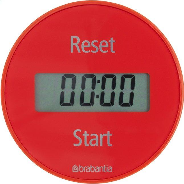 Image pour Brabantia minuteur numérique rouge à partir de ColliShop