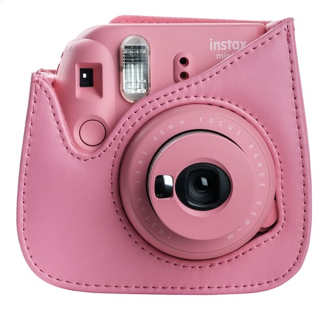 Fujifilm housse pour appareil photo instax mini 9 rose